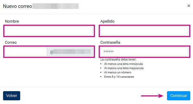 Crear una cuenta de correo corporativo