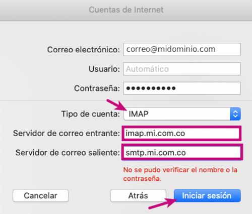 Configurar tu correo corporativo en Mail de Mac