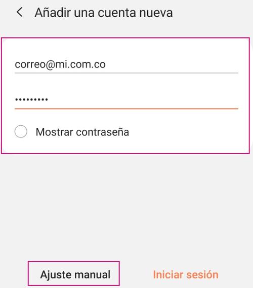 Configura tu correo corporativo en Android
