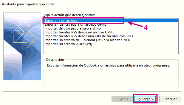migrar contactos de outlook a correo de mi.com.co 2