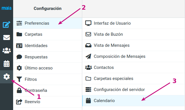 En tu correo corporativo puedes administrar el calendario