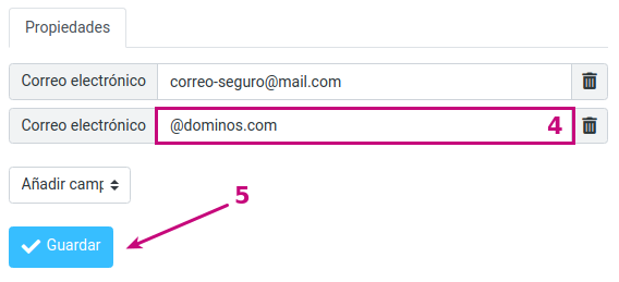 Agrega dominios a una Lista blanca en tu correo empresarial
