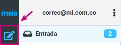 redactar un correo corporativo