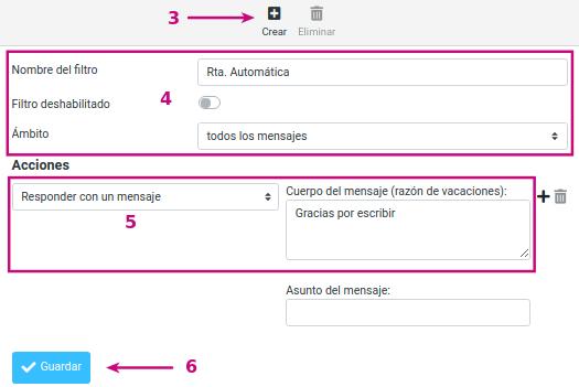 Configura una respuesta automática en tu correo corporativo