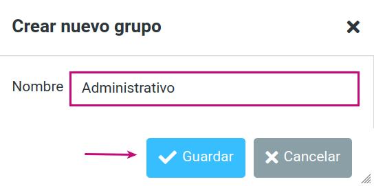 Edita un Grupo de contactos en tu correo corporativo