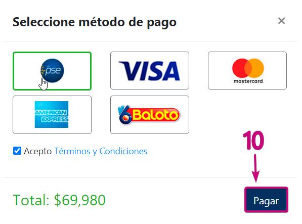 Medios de pago 4